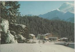 "Laax-Flims - Sporthotel ""Happy-Rancho"" Little Rancho, Old Rancho Mit Der Signina - Photo: Geiger - GR Graubünden"