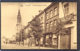 COURTRAI - Marché-aux-Grains Et Poste - Kortrijk