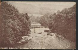 °°° 11721 - GALLES - CHAIN BRIDGE , BERWYN , LLANGOLLEN °°° - Denbighshire
