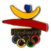 C27- JO BARCELONE'92 - 3 Pin's Différents - Verso : 2 SM / C 1988 COOB'92 S.A. TM - Coca-Cola