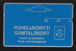 Telecard  Finland,  50 Units, UNC, Very Scarce,  MINT, RRRRR - Finland