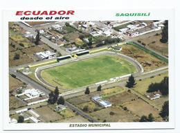 """ESTADIO - STADIUM - STADE - STADIO - STADION.- """" MUNICIPAL """" .- SAQUISILI.-  ( ECUADOR ) - Calcio"""