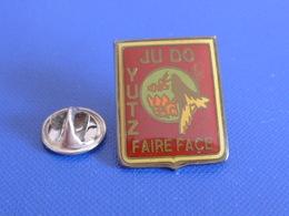 Pin's Judo - Club Yutz - Faire Face - Aigle Vautour Oiseau (PB8) - Judo