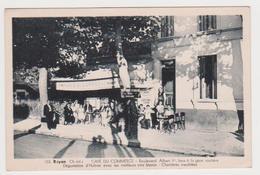 Royan, Café Du Commerce, Bld Albert 1er - Royan