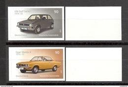 Deutschland / Germany / Allemagne 2017 3301/02 ** Klassische Automobile Selbstklebend Self-adhesive (13.04.17) - Unused Stamps
