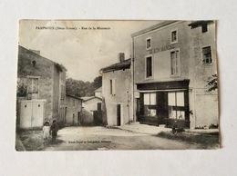 Pamproux - Rue De La Minoterie - France