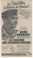 Pub 1965  CINEMA FILM PRESSE  - LA COLLINE Des HOMMES PERDUS-  Originale Du Journal Le PARISIEN Du 10-06-1965 . - Autres