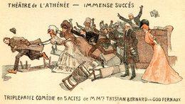 THEATRE DE L ATHENEE(TRIPLEPATTE) - Théâtre