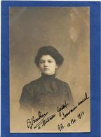 Autographe Signature à L'encre Sur Carte Postale Barbier - Autographes