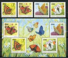 Irlande, Yvert 1279/1282+BF37, Scott 1262/1265&1265a, MNH - Unused Stamps