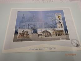 First Day Sheet 2018-13 Pleinen Van Namen Zie Foto - Maximum Cards