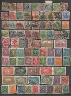 Allemagne - Reich - Empire - Collection D'oblitérés - Quelques Neufs* Ou Sans Gomme - Sammlungen (ohne Album)