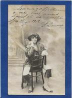 Autographe Signature à L'encre Sur Carte Postale DEMONDY - Autographes