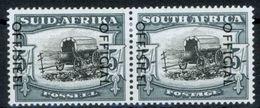 Südafrika D 94-95  5 Sh. Dienstmarke Paar Sauber Mit Originalgummi + Falzrest - South Africa (...-1961)