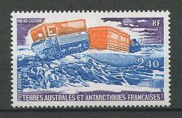 TAAF PA N° 62 ** Neuf MNH Superbe C 1,90 € Véhicule AntarctiqueHB 40 Castor Cars Transports - Poste Aérienne