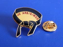 Pin's Judo - Club JC Ars Sur Mos - Ars/s/mos - Ceinture Noire (PT68) - Judo