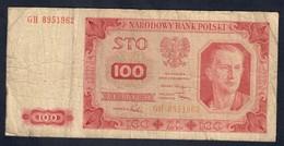 Polonia 100 Zlotych 1948 LOTTO 135 - Polen