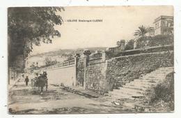 Cp , 06 ,GRASSE , Boulevard CARNOT ,attelage , Cheval ,voyagée 1907 - Grasse