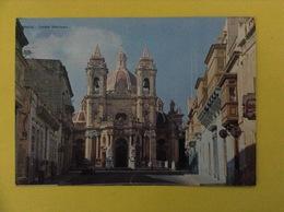 CARTOLINA FORMATO GRANDE VIAGGIATA ZABBAR SANCTUARY MALTA SANTUARIO - Malta