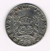 =&   CHILI   8 REALES 1757 ( COPIE ? ) - Mexique