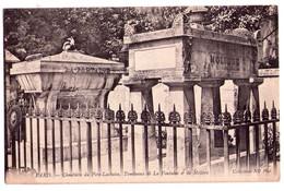 2437 - Paris ( XXe ) - Cimetière Du Père Lachaise ( Tombeaux De La Fontaine Et De Molière ) - N.D. Photo - - Arrondissement: 20