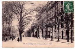 2438 - Paris ( XXe ) - Rue Belgrand Au Square Tenon - C.P. - - Arrondissement: 20