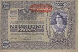 Autriche        Billet Neuf    Novembre 1918    10.000 - Austria