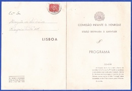 Program, Portugal 1944 - Programa Da Comissão Infante D. Henrique/ Sessão Destinada à Juventude - Documents Historiques