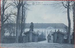Melle Entree Du Collège Des Joséphites (scheurtje - Gekleefd) - Melle