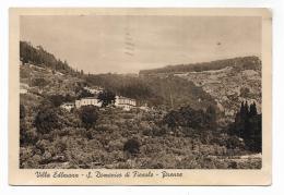 VILLA EDLMANN - S. DOMENICO IN FIESOLE - FIRENZE 1949 - VIAGGIATA  FG - Firenze (Florence)