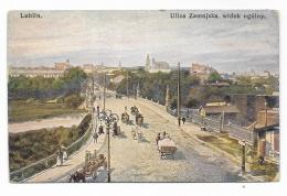 LUBLIN - ULICA ZAMOJSKA, WIDOK OGOLNY - NV FP - Pologne
