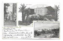 BORDIGHERA - HOTEL ROYAL - PORTA SOTTANA - BORGO MARINA    VIAGGIATA FP - Imperia