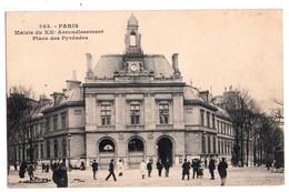 2440 - Paris ( XXe ) - Mairie Du XXe , Place Des Pyrénées - N°363 - - Arrondissement: 20