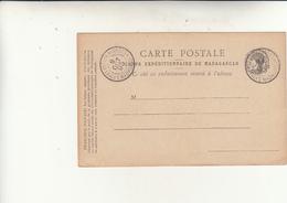 Corps Expèditionniere De Madagascar, Carte Lettre Intero Postale In Franchigia.  Inused 1896 - Marcophilie (Lettres)