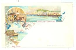 1890's, Italy, Napoli. Printed Art Pc, Unused. - Pompei