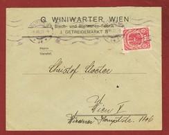 Infla Ab 15 April 1920 Brief Firmenochung Perfin G.W.   (G. Winiwarter)) - 1918-1945 1. Republik