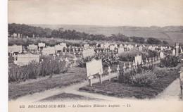 BOULOGNE SUR MER - Le Cimetière Militaire Anglais - War Cemeteries