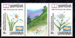 294 490 - UCRAINA 1996 , Unificato 282/283  Integra  ***  FLORA - Ucraina