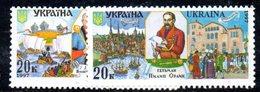 719 490 - UCRAINA 1997 , Unificato 313/314  Integra  *** - Ucraina