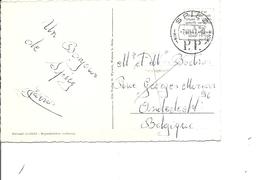 Suisse ( CP En Port Payé De 1947 De Spiez Vers La Belgique à Voir) - Briefe U. Dokumente