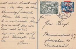 PAYS-BAS  1939  ENTIER POSTAL CARTE - Entiers Postaux