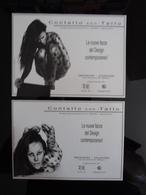 Tattoo Sexy Females Lot De 2 Cartes Postales - Advertising