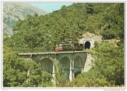 CPSM - Train CFC 12 Entre Vizzavona Et Bocognano - FRANCO DE PORT - France