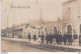 MUSSIDAN La Gare Carte Photo - France