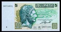 # # # Banknote Tunesien (Tunisia) 5 Dinare 1993 UNC # # # - Tunesien
