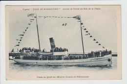 NOIRMOUTIER - VENDEE - VAPEUR VILLE DE NOIRMOUTIER - SERVICE DE PORNIC AU BOIS DE LA CHAISE - Noirmoutier
