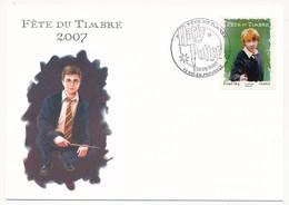 3 Cartes Fédérales - Fête Du Timbre AIX En PROVENCE 2007 - HARRY POTTER - Lettres & Documents