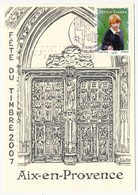 3 Cartes Locales - Fête Du Timbre AIX En PROVENCE 2007 - HARRY POTTER - Lettres & Documents