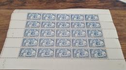 LOT 413413 TIMBRE DE FRANCE NEUF** N°498 FEUILLE  VALEUR 275 EUROS  BLOC - Feuilles Complètes