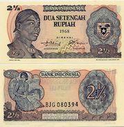 INDONESIA       2½ Rupiah       P-103a       1968       UNC - Indonesia